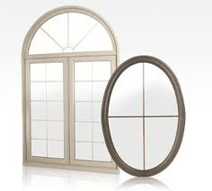 Image depicting the variety of shapes that Beaumart windows come in.
